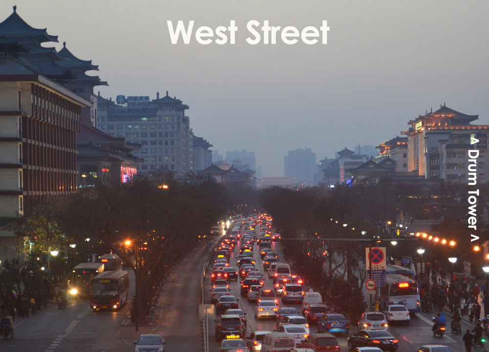 City Centre Of Xian China Xian Bell Tower Travel And