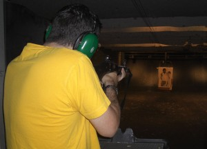 Pearl River Shooting Range, Driving Road Trip in America, New York State