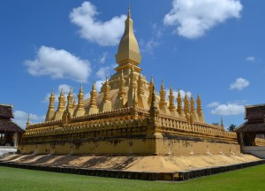 Inside Golden Stupa, Vientiane City Tour, Things to do in Laos