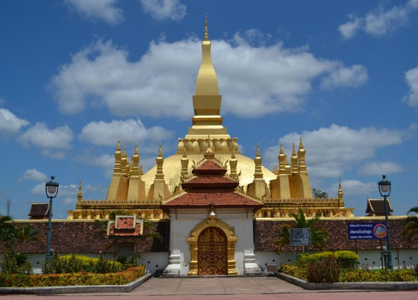 That Luang Golden Stupa, Vientiane City Tour, Things to do in Laos