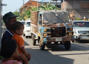 Local Streets and Neighbours, Buddhist Monk Ordination in Thailand, Nang Rong, Buriram