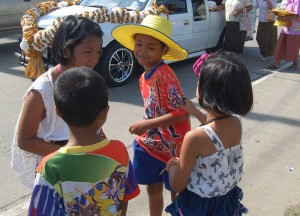 Children and Youngsters, Buddhist Monk Ordination in Thailand, Nang Rong, Buriram