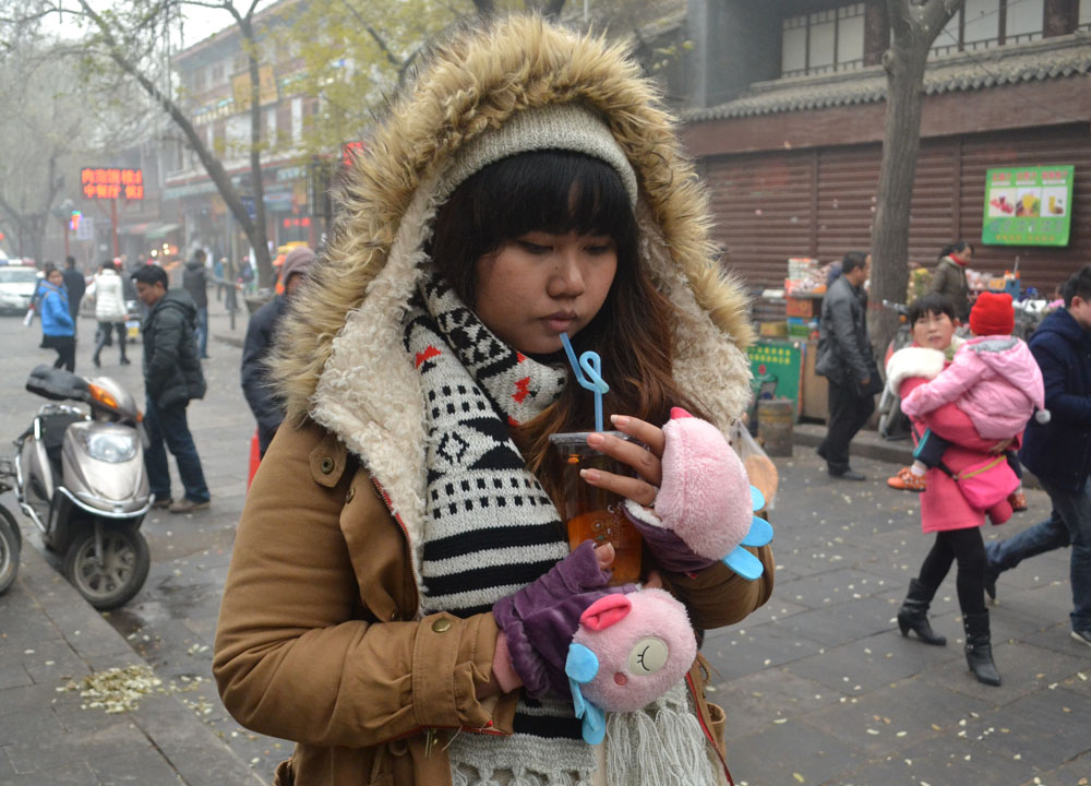 xian muslim quarter and beiyuanmen street food