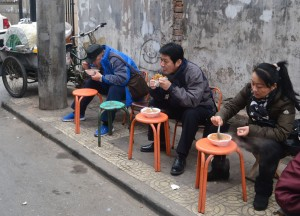 Soup on the Street, Chinese Street Food in China, Xian