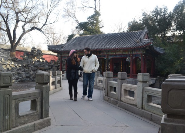 Beihai Park Beijing Winter Time, Best of Travel 2013 Highlights Asia