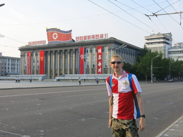 Pyongyang NK, Interview with Jonny Blair, Best Travel Blogger in the World