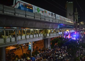 Skytrain at Night (Asoke), Top 10 Bangkok Attractions, Experiences Thailand