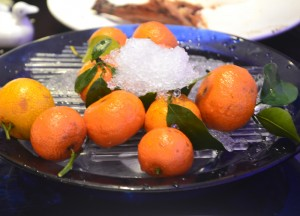 Fresh Mandarin Oranges, Da Dong Beijing Duck Restaurant, Best Duck Beijing
