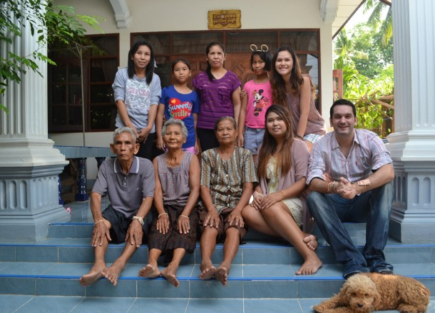 Thai Farming Family, Living in Thailand, Nang Rong, Simple life Rural Thailand