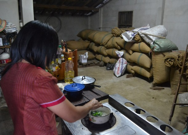 Storeroom Full of Rice, Living in Thailand, Nang Rong, Simple life Rural Thailand