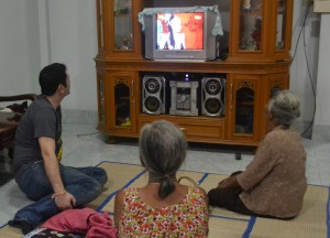 Ligay Show on TV, Living in Thailand, Nang Rong, Simple life Rural Thailand