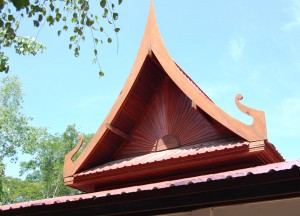 Stay at Thai Temple, Buddhist Monk Ordination in Thailand (Nang Rong Buriram)