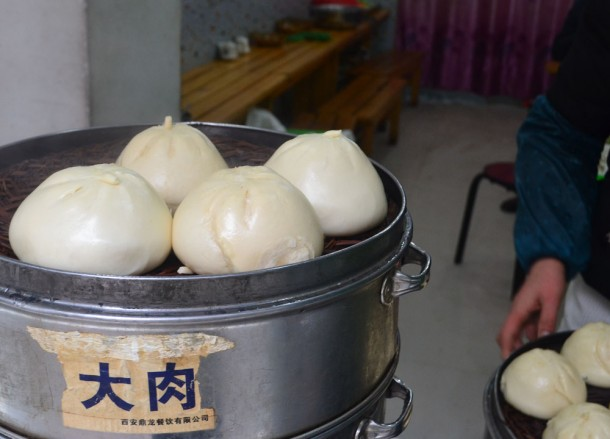 Big Baozi Buns, Top 10 Chinese Street Food in China, Xian