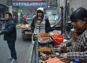 Nanchang Alley Street Vendors, Top 10 Chinese Street Food in China, Xian