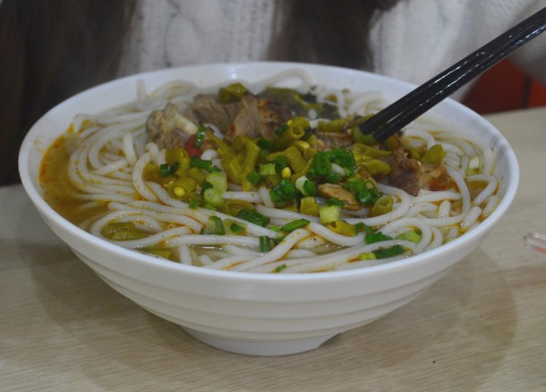 Shaanxi Qishan Noodles, Top 10 Chinese Street Food in China, Xian