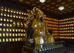 Many Buddha Statues, Top Attractions in Xian China (Shaanxi)