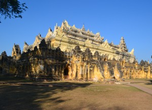 Maha Aungmye Bonzan Monastery, Best mandalay day tour by taxi