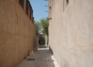Bastakia Back Streets, Two Day Dubai Stopover, Emirates (UAE)