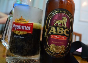 ABC Extra Stout Beer, Super 81 Restaurant Mandalay, Best Restaurants Myanmar