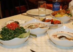 Persian Food at Jumeira, Two Day Dubai Stopover, Emirates (UAE)