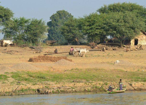 Authentic Local Farm Life, Bagan to Mandalay by Boat, Irrawaddy River Cruise