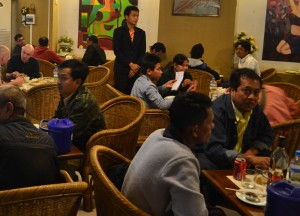 Inside Restaurant Seating, Super 81 Restaurant Mandalay, Best Restaurants Myanmar