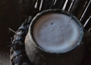Filled Fermentation Pot, Making Palm Wine in Burma, Alcohol from Palm Trees