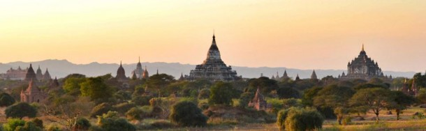 Panoramic Views of Bagan Temples, Two Days in Bagan and Mount Popa, Myanmar