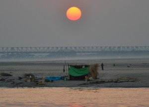 Sunrise on the Irrawaddy RIver, Bagan to Mandalay by Boat, Irrawaddy River Cruise