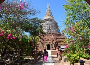 Temple of Teak Budda, Two Days in Bagan and Mount Popa, Myanmar