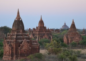 Temples at Manisanda Hotel, Two Days in Bagan and Mount Popa, Myanmar