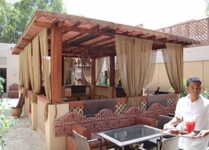 Local House Restaurant, Bastakia, Two Day Dubai Stopover, Emirates (UAE)