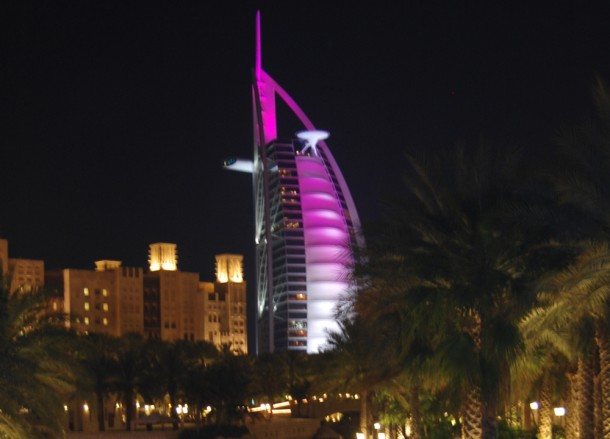 Burj al Arab Hotel Jumeira, Two Day Dubai Stopover, Emirates (UAE)