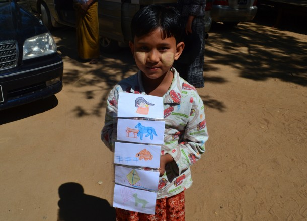 Young Boy Selling Postcards, Travel in Myanmar 2014, Changes in Burma