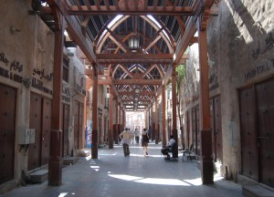 Architecture of Souks, Two Day Dubai Stopover, Emirates (UAE)