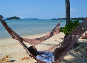 Relaxing in Hammocks, Top Koh Chang Hideaways, Romantic Resorts, Thailand