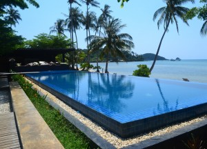 Seavana Infinity Pool, Best Romantic Resorts in Koh Chang Islands Trat