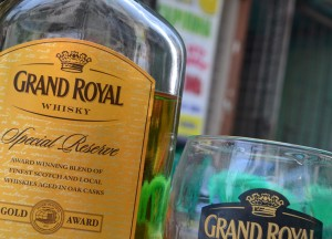 Grand Royal Whisky in Myanmar, 19th Street Food in Yangon Chinatown