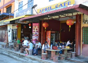 April Cafe Restaurant, Kuala Besut Pier to the Perhentian Islands