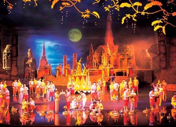 Stage of Siam Niramit in Bangkok, Top 10 Bangkok Attractions, Experiences Thailand