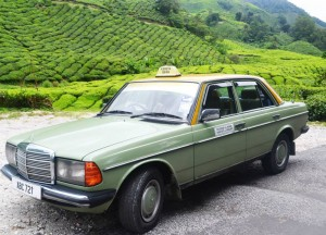 Taxi to the Tea Farm, British Tea Plantations in Asia, Hill Stations