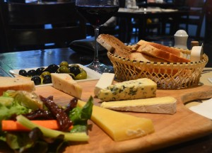 Olives and Cheese Platter, Wine Connection in Sukhumvit, Bangkok, Thailand