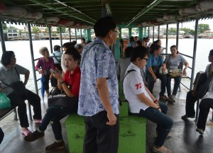 River Boat Crossing, Attractions in Nonthaburi, Bangkok