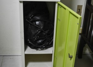 Safe Lockers for Baggage, My First Hostel Experience in Bangkok Thailand