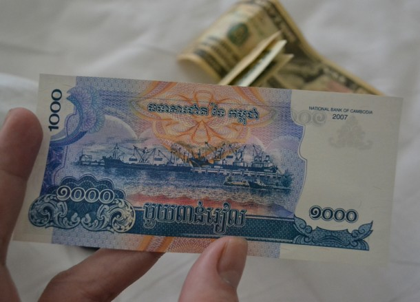 Fresh Bank Notes, US Dollars or Local Currency Cambodia