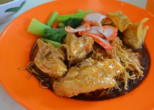Curry Wonton Mee, Best Food Courts in Georgetown Penang