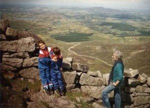 Climbing Mourne Mountains, Backpacking Parents, My Travel Inspiration
