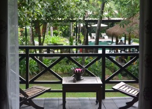 Balcony Views of Pool, Maison Polanka Review, Siem Reap