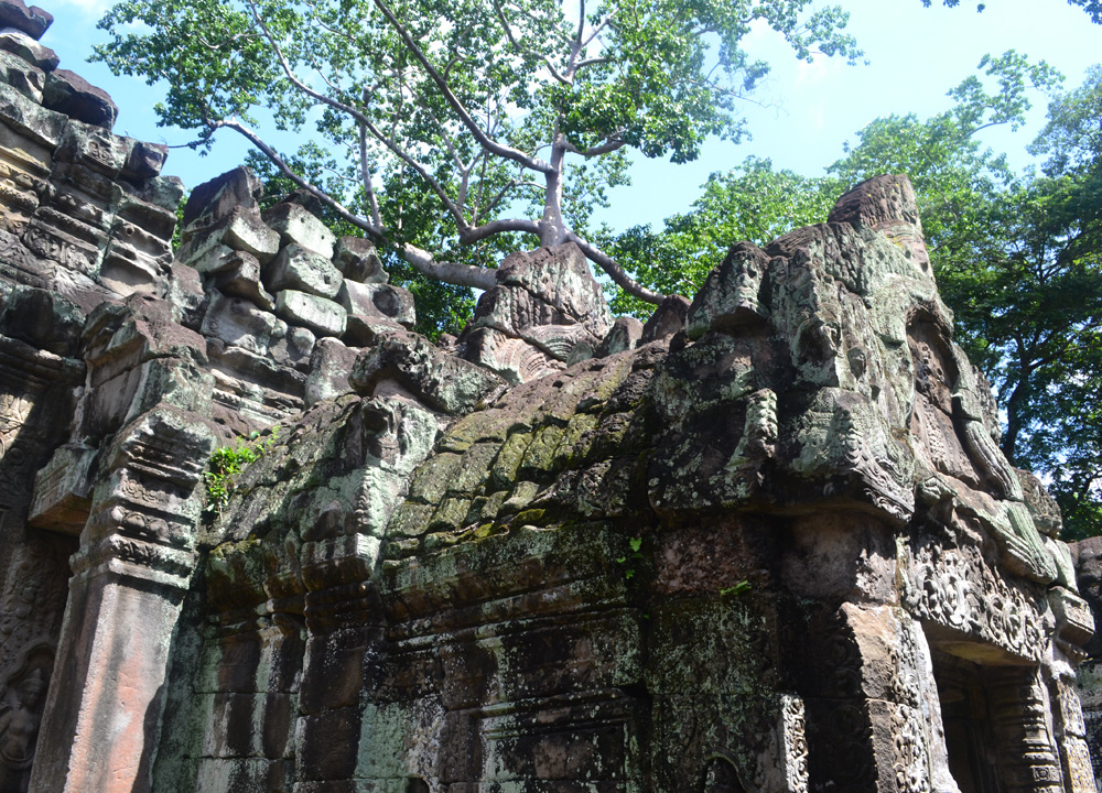 Front Gates to Preah Khan, Introduction to Angkor Wat Two Day Tours