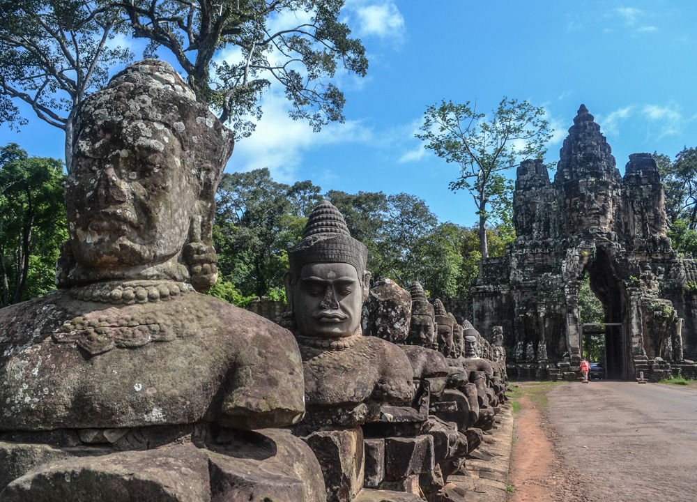 South Gate Angkor Thom, Introduction to Angkor Wat Two Day Tours